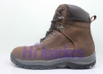 hiker style genuine leather safety trainer/safety shoes
