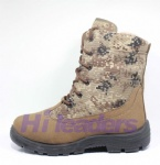 2016 jungle combat camouflage military boot with rubber sole