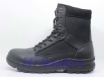 Best material jungle breathable military boot/black combat boot