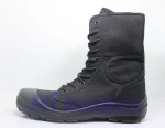 New design Low budget Military boot/farmer boots/canvas boots