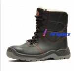 Cold resistant safety boots